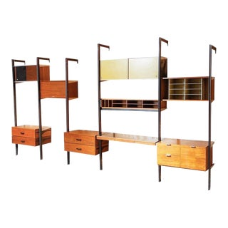 21st Century George Nelson for Herman Miller 5-Bay CSS Wall Unit For Sale
