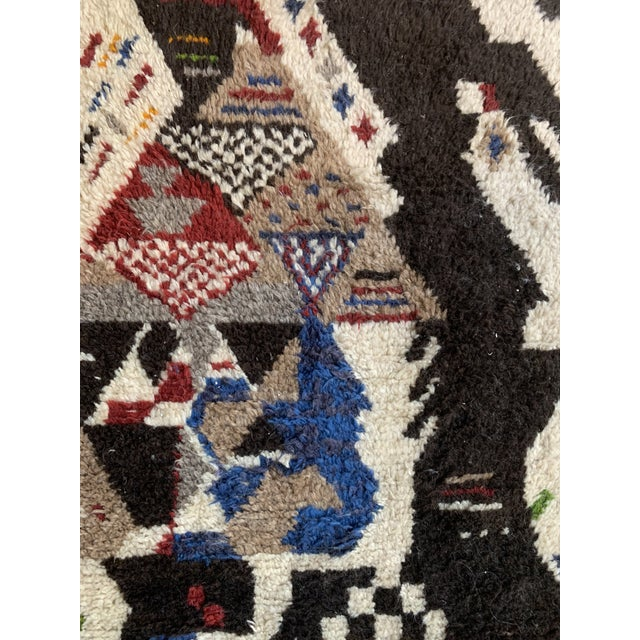 Textile 13' X 7' Large Moroccan Rug For Sale - Image 7 of 9