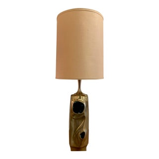 Amorphic Laurel Table Lamp With Chromatic Inlays For Sale