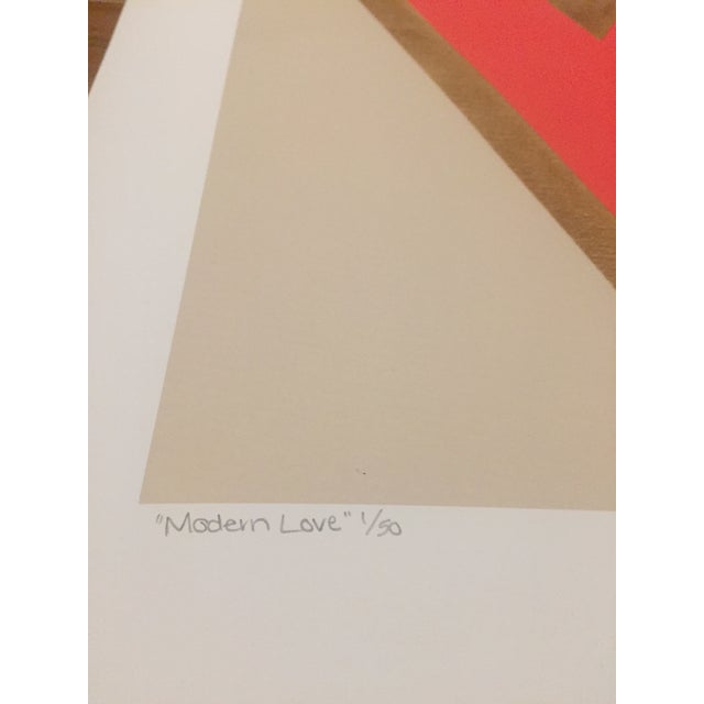 Modern Love Original Signed and Numbered Print - Image 2 of 3
