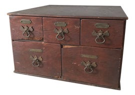 Image of Hollywood Regency Filing Cabinets