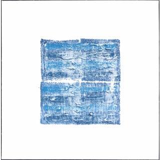 """""""Ny Blue 2"""" Original Artwork by Len Klikunas For Sale"""