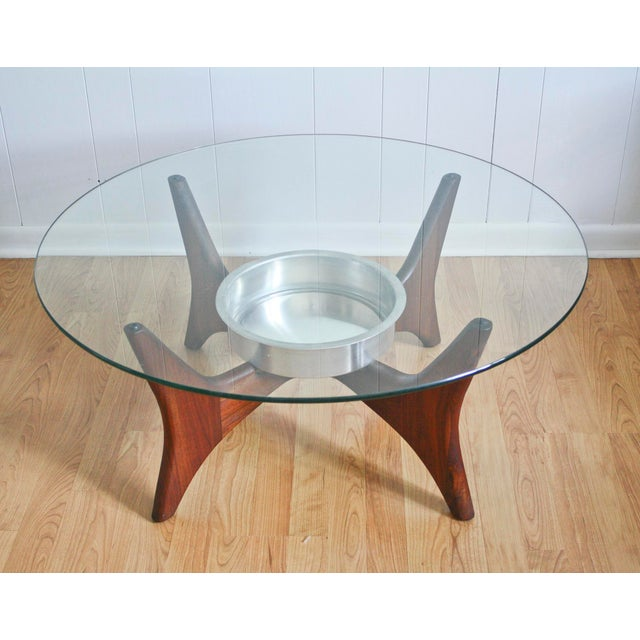 1649-PT Adrian Pearsall Coffee Table W/ Planter - Image 2 of 8