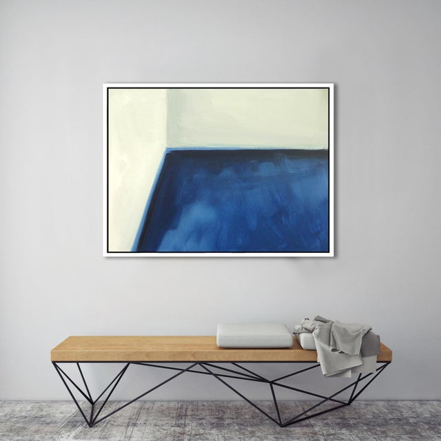 "Abstract ""Abstract Open Door"" Fine Art Framed Giclée Print For Sale - Image 3 of 3"