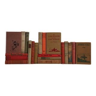 Earthtone Western Novels - Set of 20 For Sale