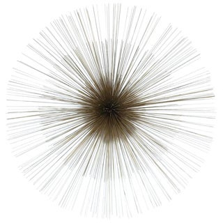 Mid Century Pom Pom Wall Sculpture by Curtis Jere For Sale