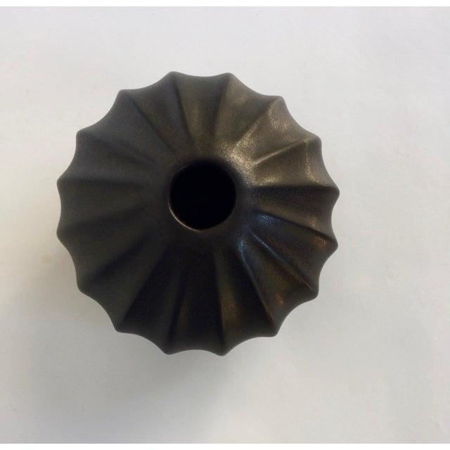 Jonathan Adler Black Bud Vase - Image 4 of 5
