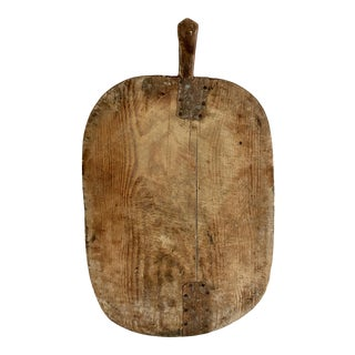 Rustic Turkish Wood Charcuterie Board For Sale