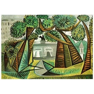 """1971 Picasso, """"Le Vert-Galant"""" Parisian Photogravure For Sale"""