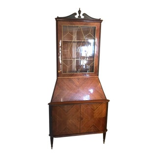 Corner Curio Cabinet/ Made in Italy For Sale