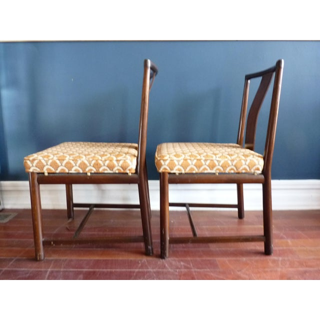 Asian Inspired Dining Chairs - A Pair - Image 8 of 11