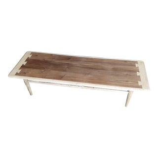 1960s Mid-Century Modern Lane Acclaim Series Dovetail Coffee Table For Sale