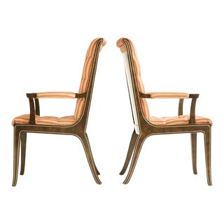 Mastercraft Dining Chairs - Set of 8 For Sale