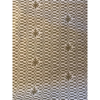 Quadrille Linen Fabric - 7 Yards For Sale