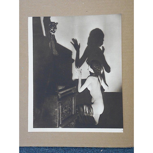 Vintage Art Deco Nude Photogravure - Image 2 of 3