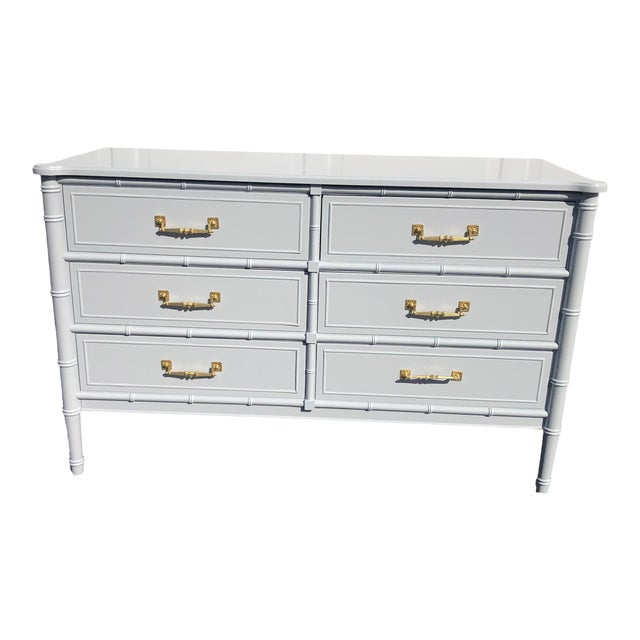 1970s Lacquered Henry Link Dresser For Sale