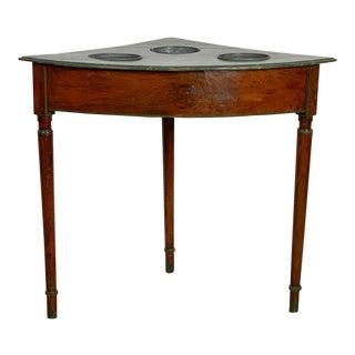 Corner Wine Table, France Circa 19th Century For Sale