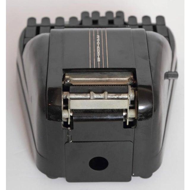 Machine Age Art Deco Streamline 1939 Bakelite Stenography Set, William Petzold For Sale In Dallas - Image 6 of 11