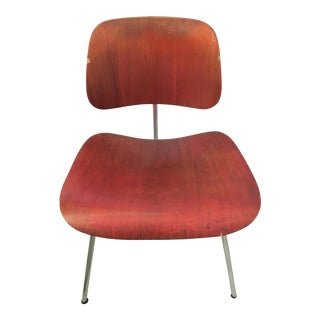 Vintage 1950s Herman Miller Eames DCM Dining Chair For Sale