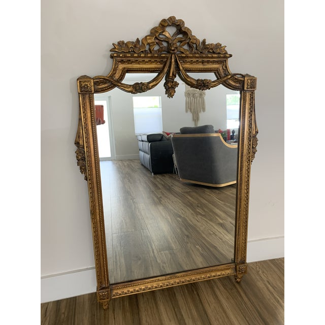 Mid 20th Century Italian Rococo Style Mirror For Sale - Image 11 of 11