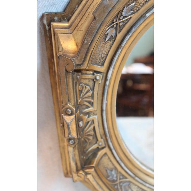Antique Renaissance Revival Gilt Wood Mirror - Image 4 of 8