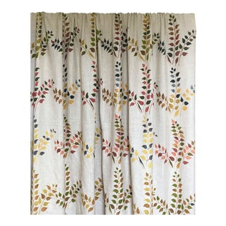 Leaves Fabric in Warm, Sample For Sale