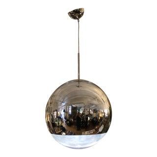 Tom Dixon Chrome Mirrored Ball Light Pendant For Sale