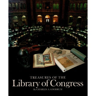 """1980 """"Treasures of The Library of Congress"""" Coffee Table Book For Sale"""