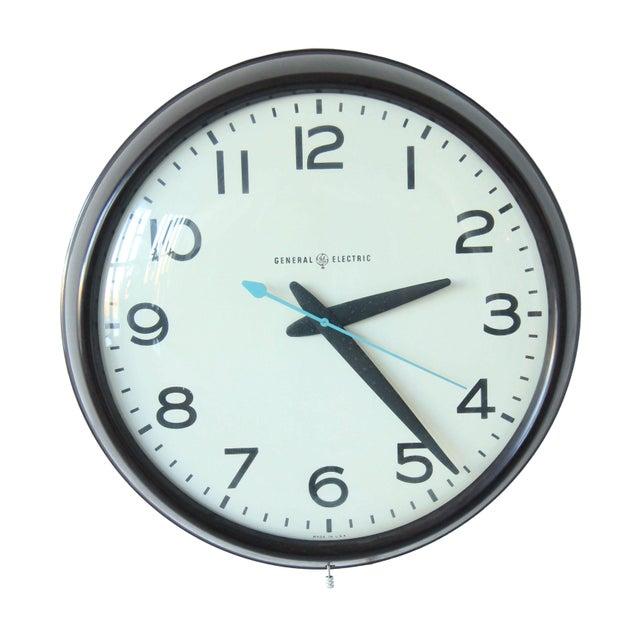 Large Vintage Mid-Century Industrial School House Clock - Image 1 of 5