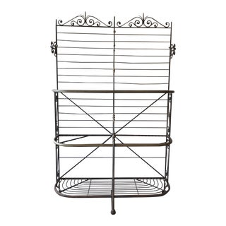 1960s Vintage Parisian Bread Rack For Sale