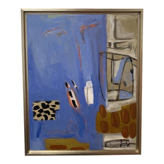 """""""Coffee Time II"""" Contemporary Still Life Acrylic Painting, Framed For Sale"""
