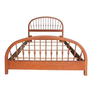 Thomasville Solitaire Collections Cherry Queen Size Bed For Sale