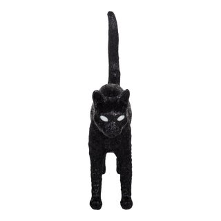 Seletti, Jobby Cat Lamp, Black, Studio Job, 2016 For Sale