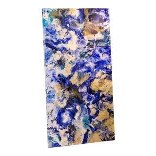 Abstract Epoxy Resin Tabletop by Abbi Custis For Sale