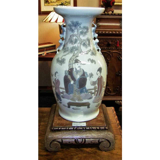 Lladro Retired Mandarin Vases - Very Rare- A Pair For Sale In Dallas - Image 6 of 12