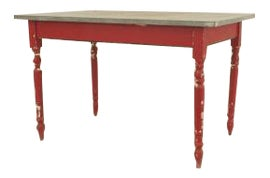 Image of Red Center Tables