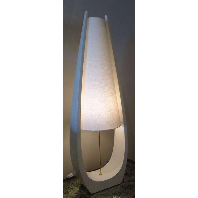 Paul Marra Wishbone Table Lamp by Paul Marra For Sale - Image 4 of 6