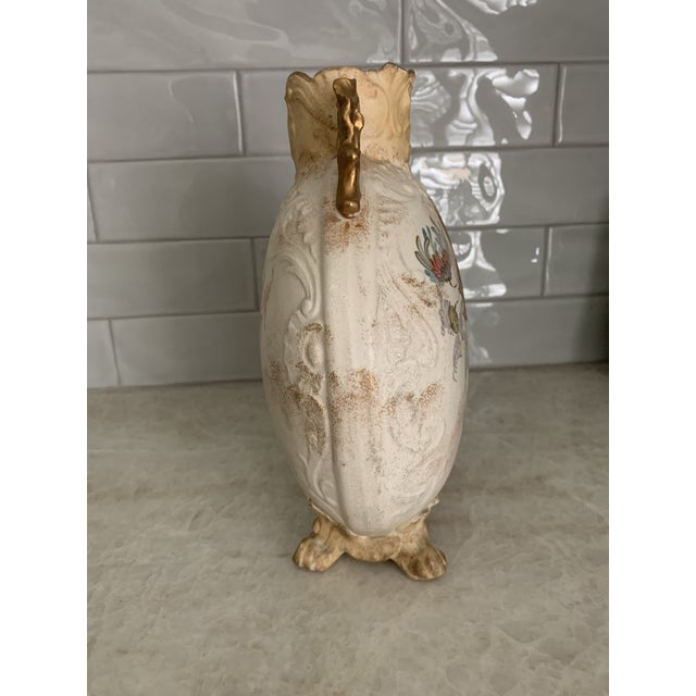Mid 19th Century Antique 1860 Samuel Moore & Co. Chinoiserie Moon Vase For Sale - Image 5 of 9