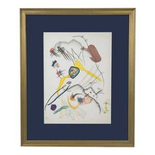 """1957 Lithograph """"Derriere Le Miroir,"""" Nos. 101-103 by Wassily Kandinsky For Sale"""