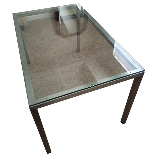 "Room & Board ""Portica"" Dining Table - Image 1 of 4"