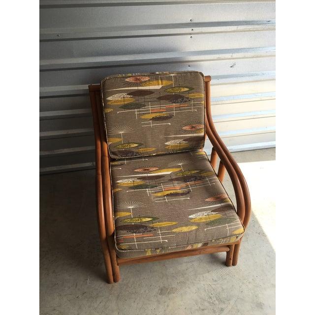 1950s Ritts Tropitan Rattan Chair - Image 2 of 5