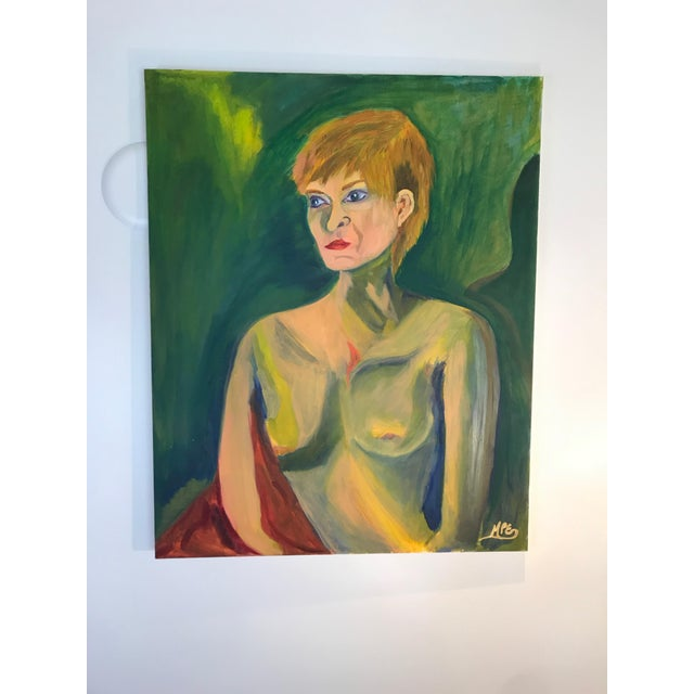 Contemporary Nude Woman Oil Painting For Sale - Image 9 of 11
