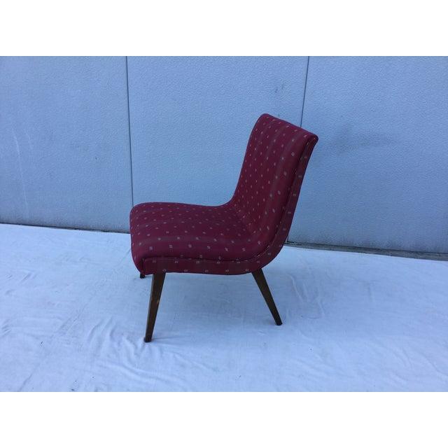 1960's Modern Slipper Chair - Image 6 of 9