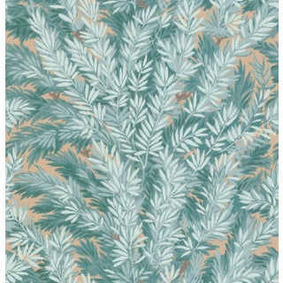 Cole & Son Florencecourt Classic Botanical Style Wallpaper Sample For Sale