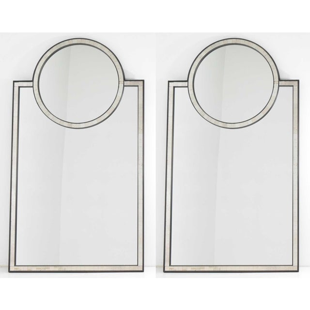 Pair of Mosaic Mirrors by Baker Furniture For Sale - Image 12 of 12