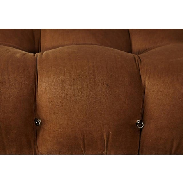 Brown Mario Bellini 'Camaleonda' Modular Sofa, B&b Italia, 1970s, for Reupholstery For Sale - Image 8 of 9