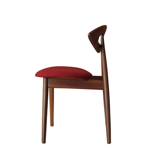 """8 Ejvind A. Johansson Dining """"Eye"""" Chairs For Sale - Image 9 of 11"""