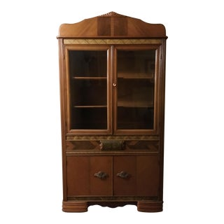 Art Deco Dining Room China Cabinet