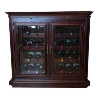 Two Door Wine Storage Cabinet For Sale