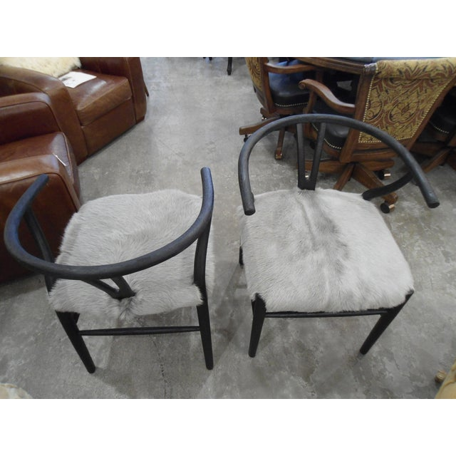 HD Buttercup Nordic Style Chairs - Set of 2 - Image 3 of 4